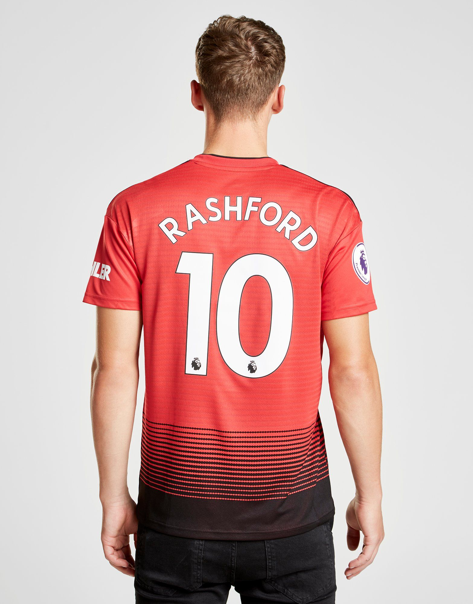 adidas Manchester United 2018/19 Rashford #10 Home Shirt