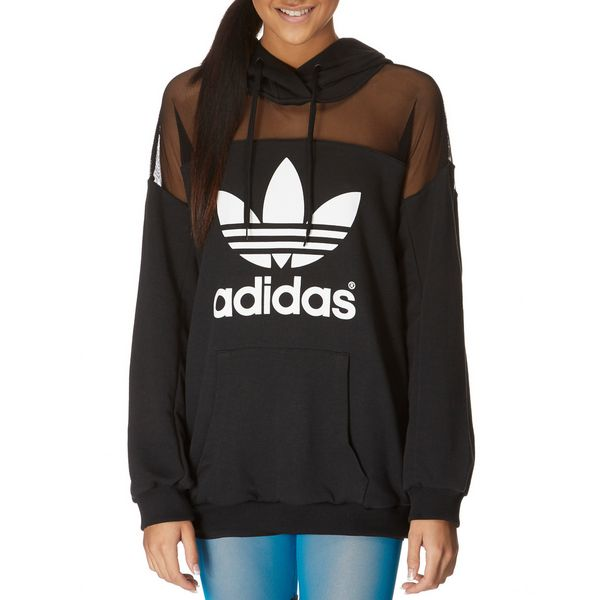 adidas originals rita ora logo hoody jd sports. Black Bedroom Furniture Sets. Home Design Ideas