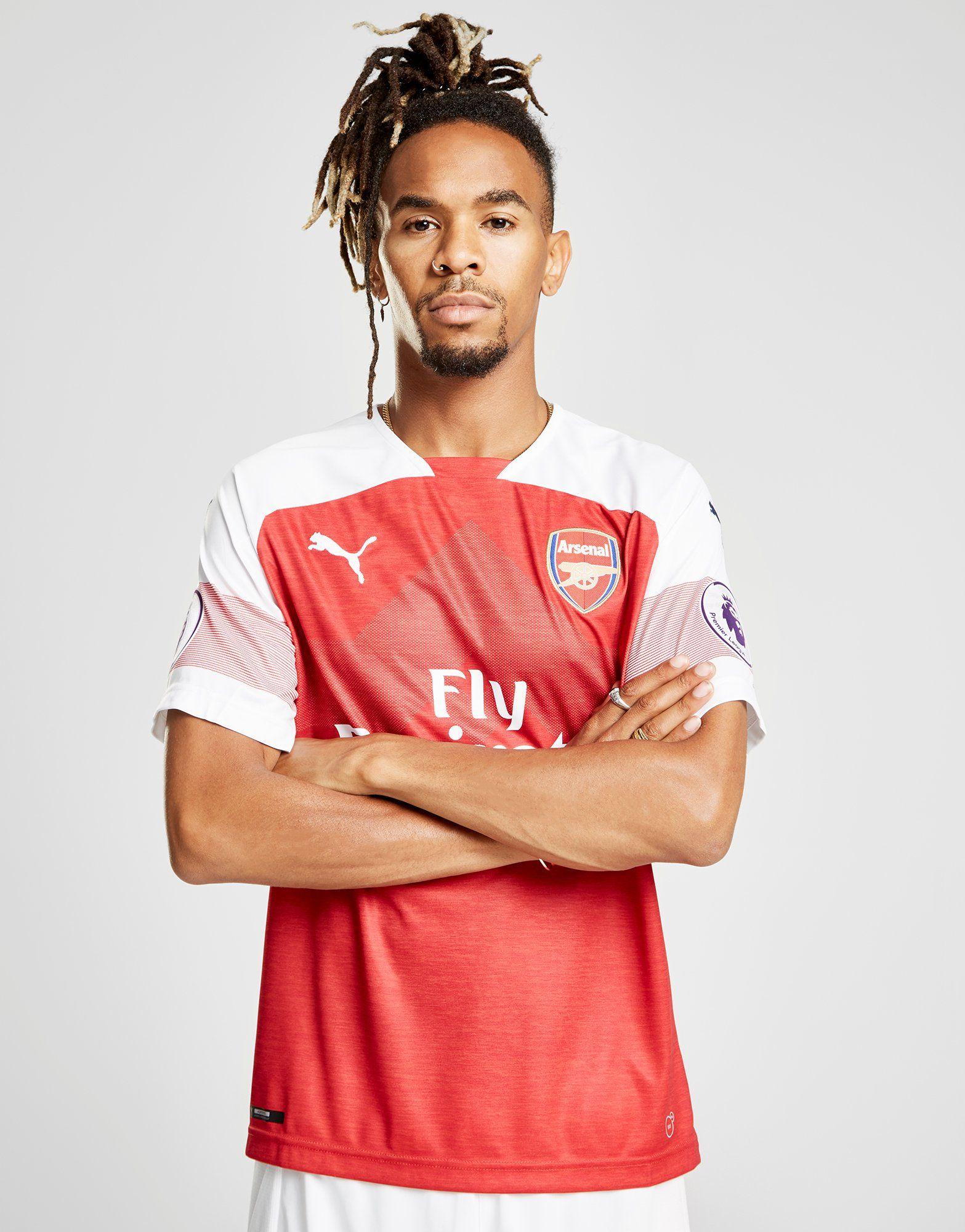 PUMA Arsenal FC 2018/19 Lacazette #9 Home Shirt