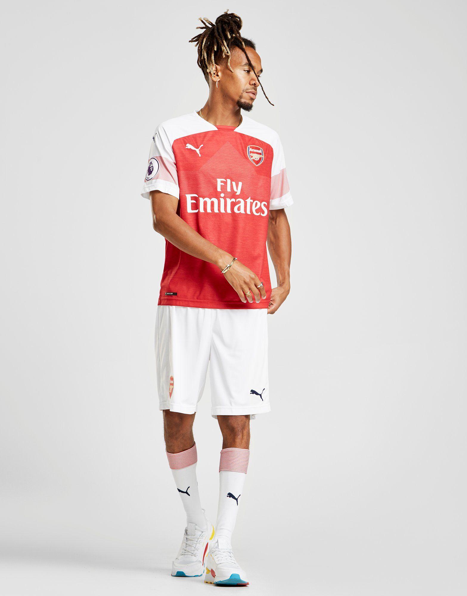 PUMA Arsenal FC 2018/19 Mkhitaryan #7 Home Shirt
