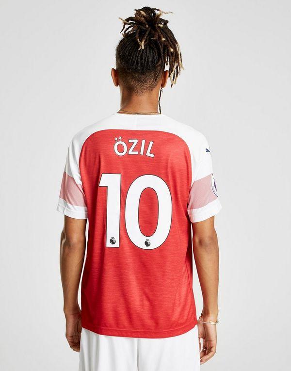 24ee18bfd40f PUMA Arsenal FC 2018 19 Ozil  10 Home Shirt