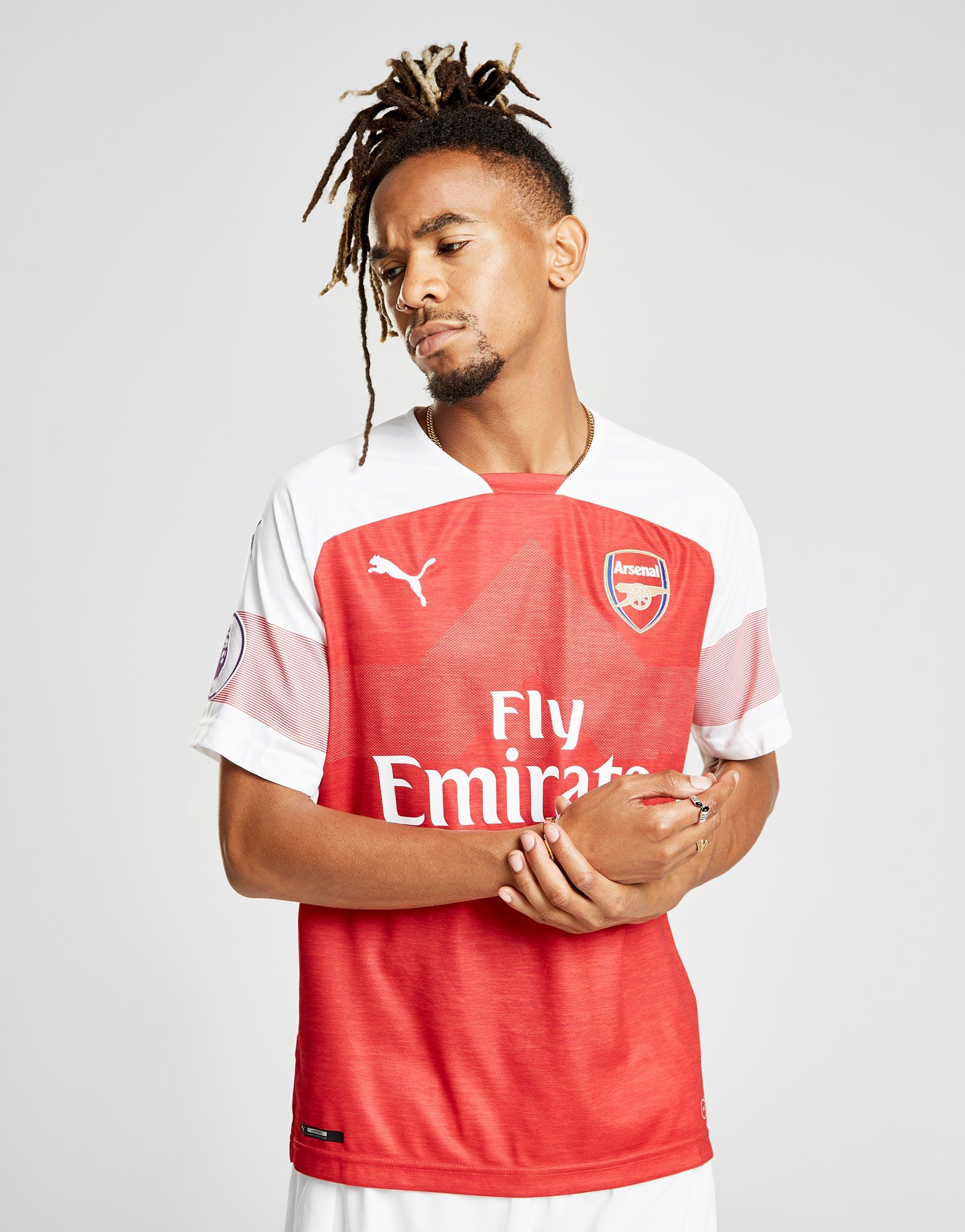 PUMA Arsenal FC 2018/19 Ozil #10 Home Shirt