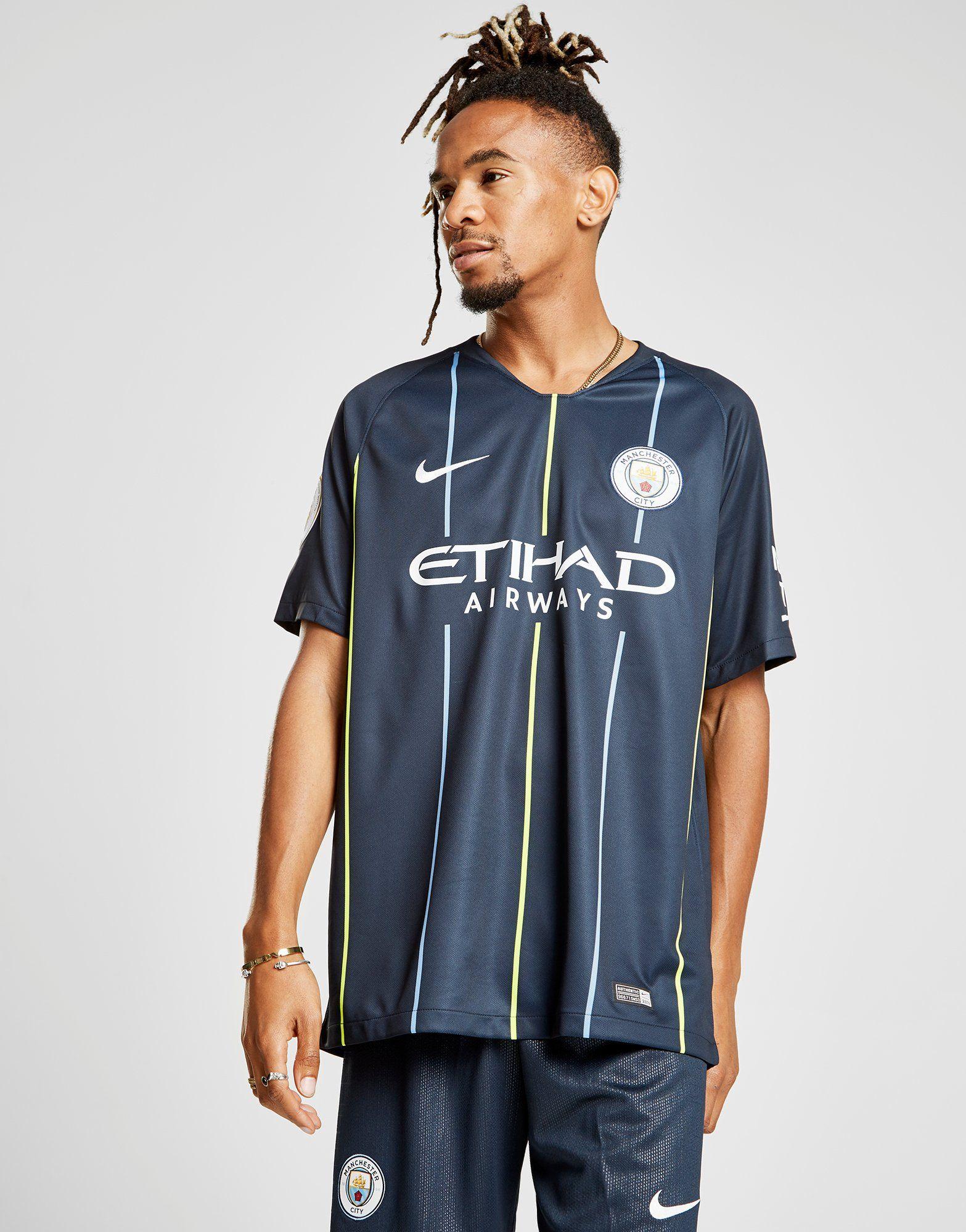 Nike Manchester City 2018/19 Aguero #10 Away Shirt