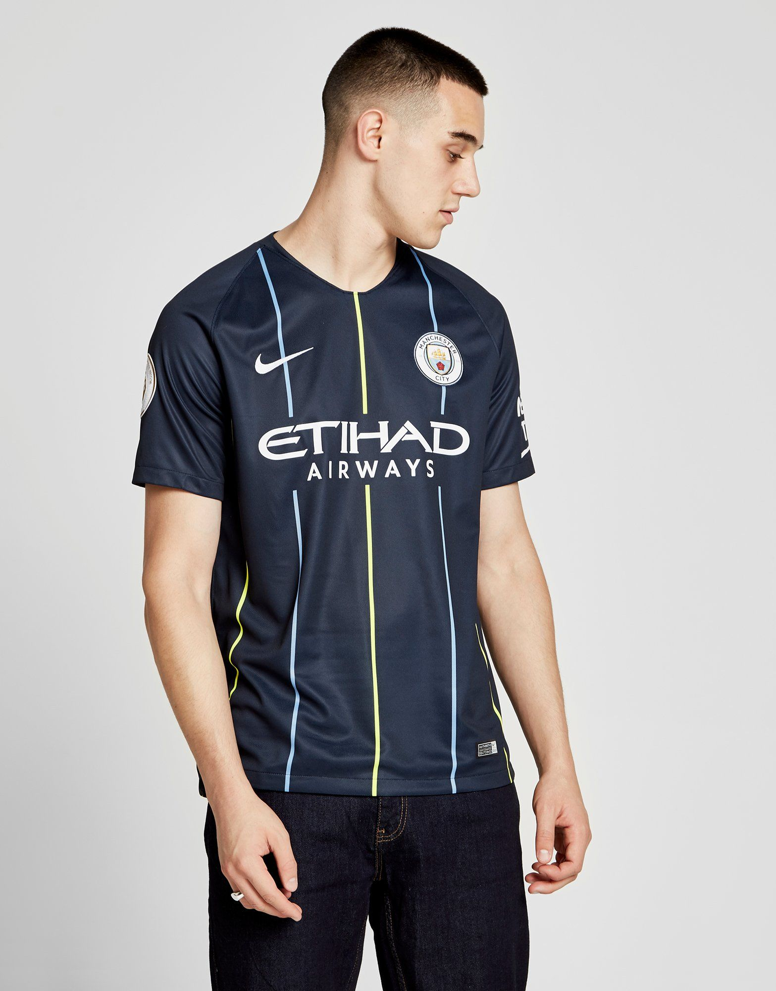 Nike Manchester City 2018/19 Sane #19 Away Shirt
