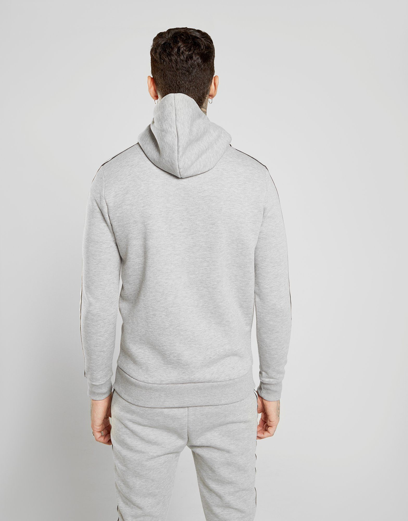 Supply & Demand Reflective Script Tape Hoodie