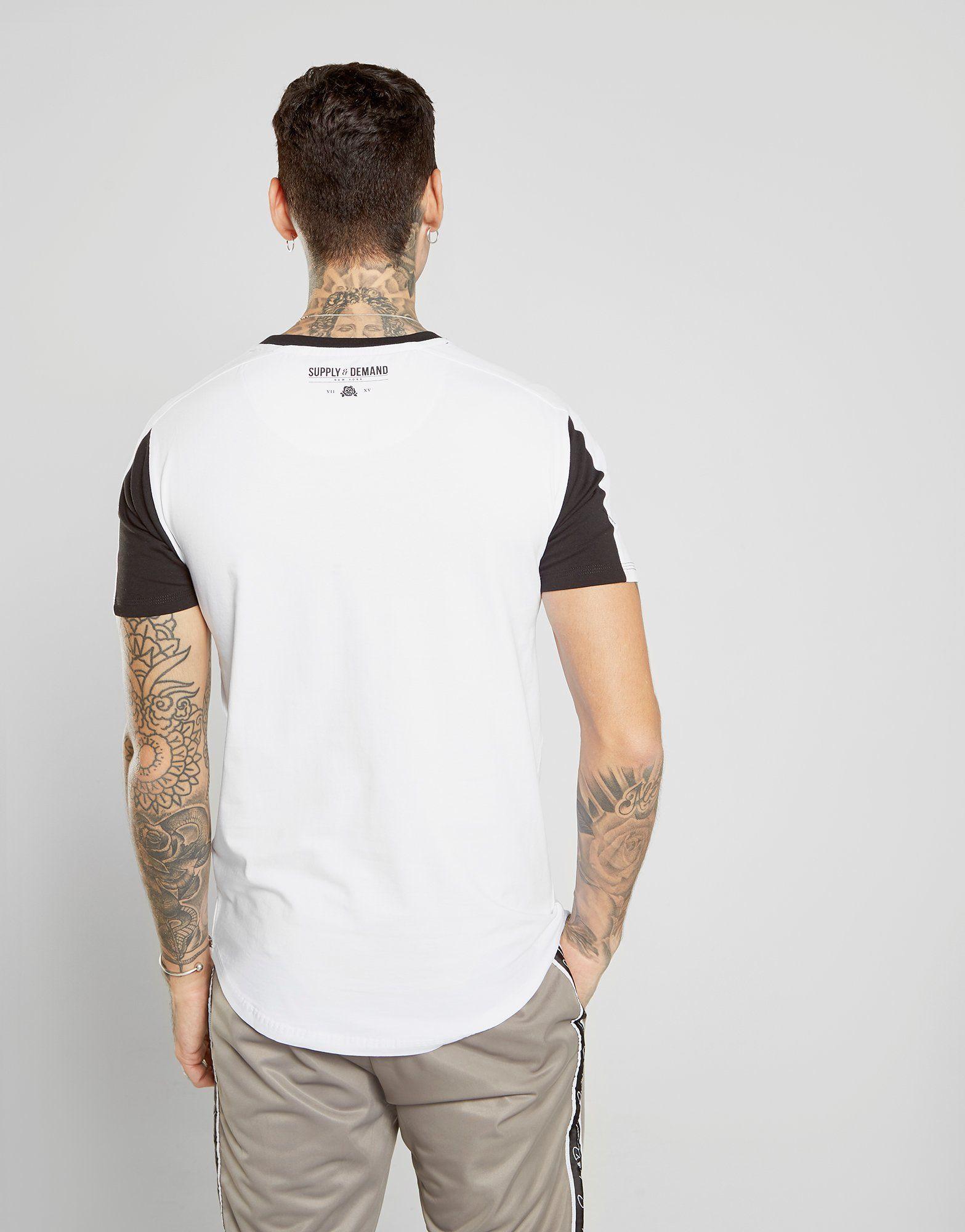 Supply & Demand Reflective Tape T-Shirt