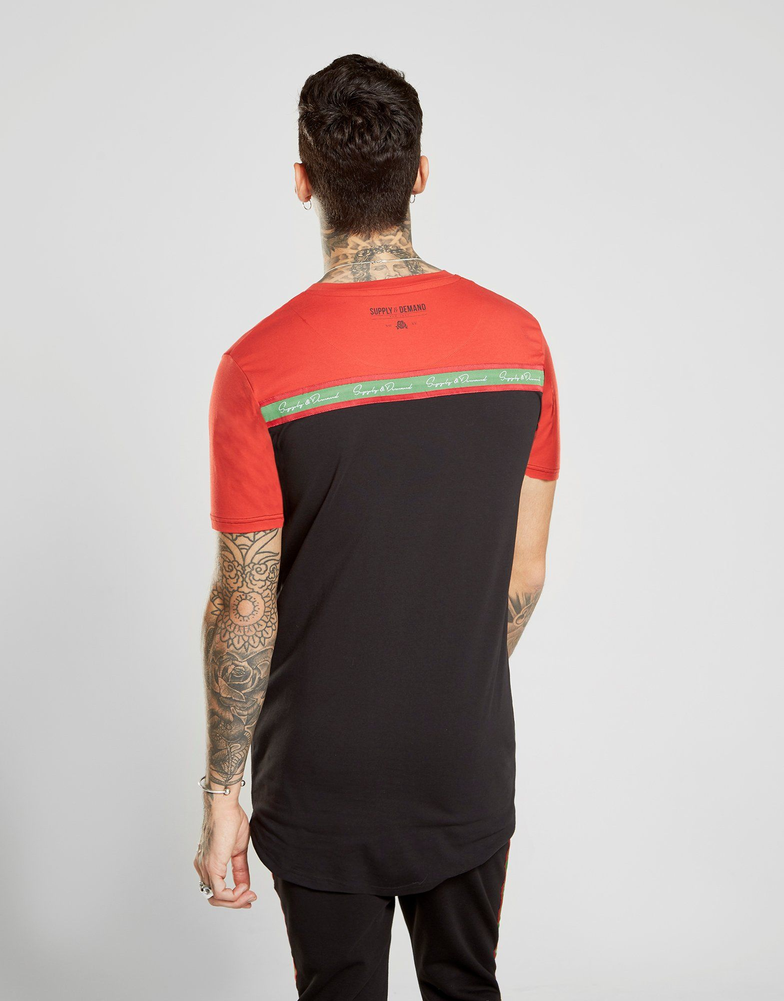 Supply & Demand Colour Block T-Shirt