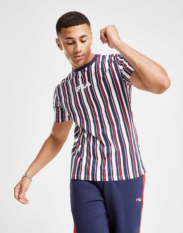 Fila Dale Stripe T-Shirt | JD Sports