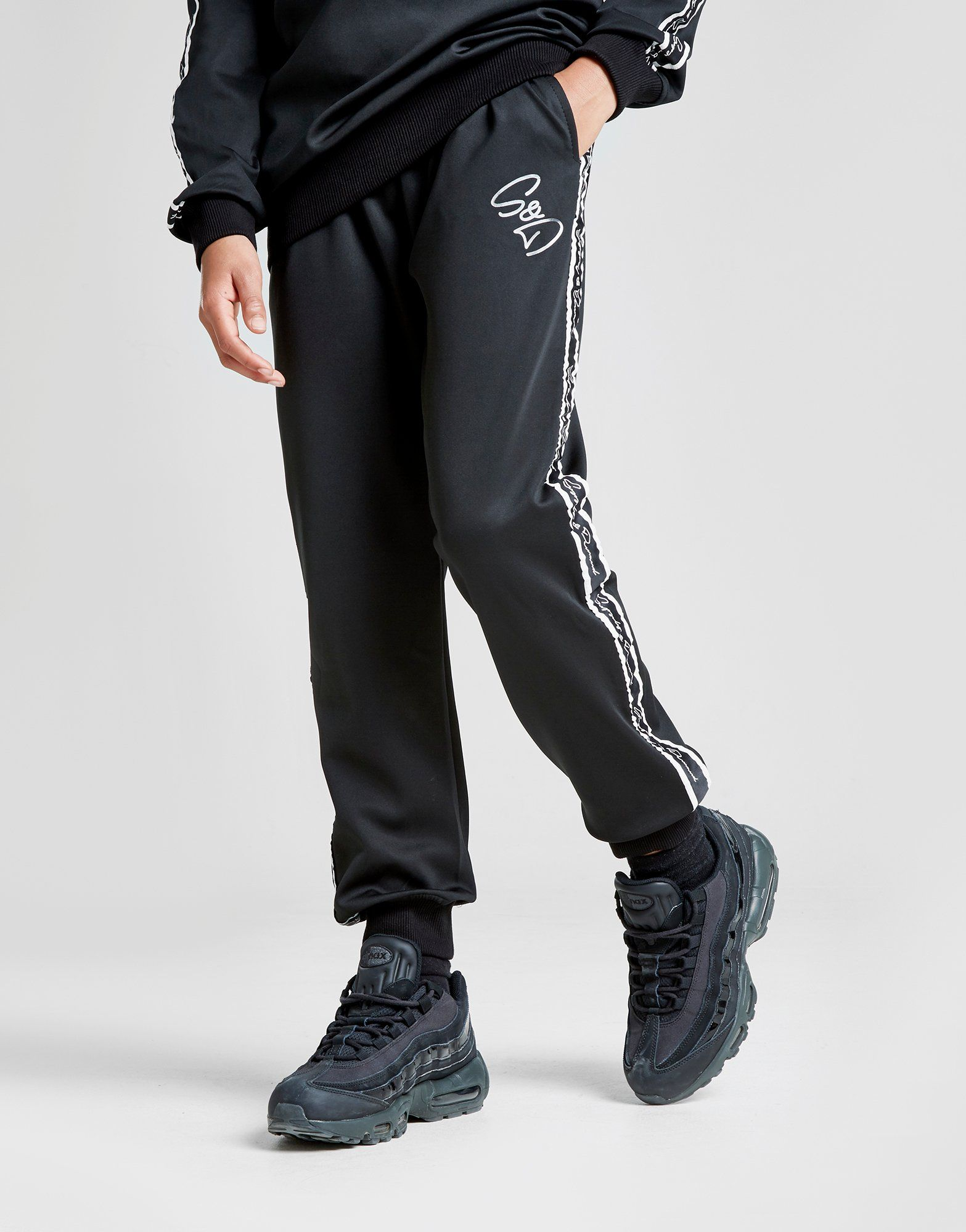 Supply & Demand Script Tape Track Pants Junior