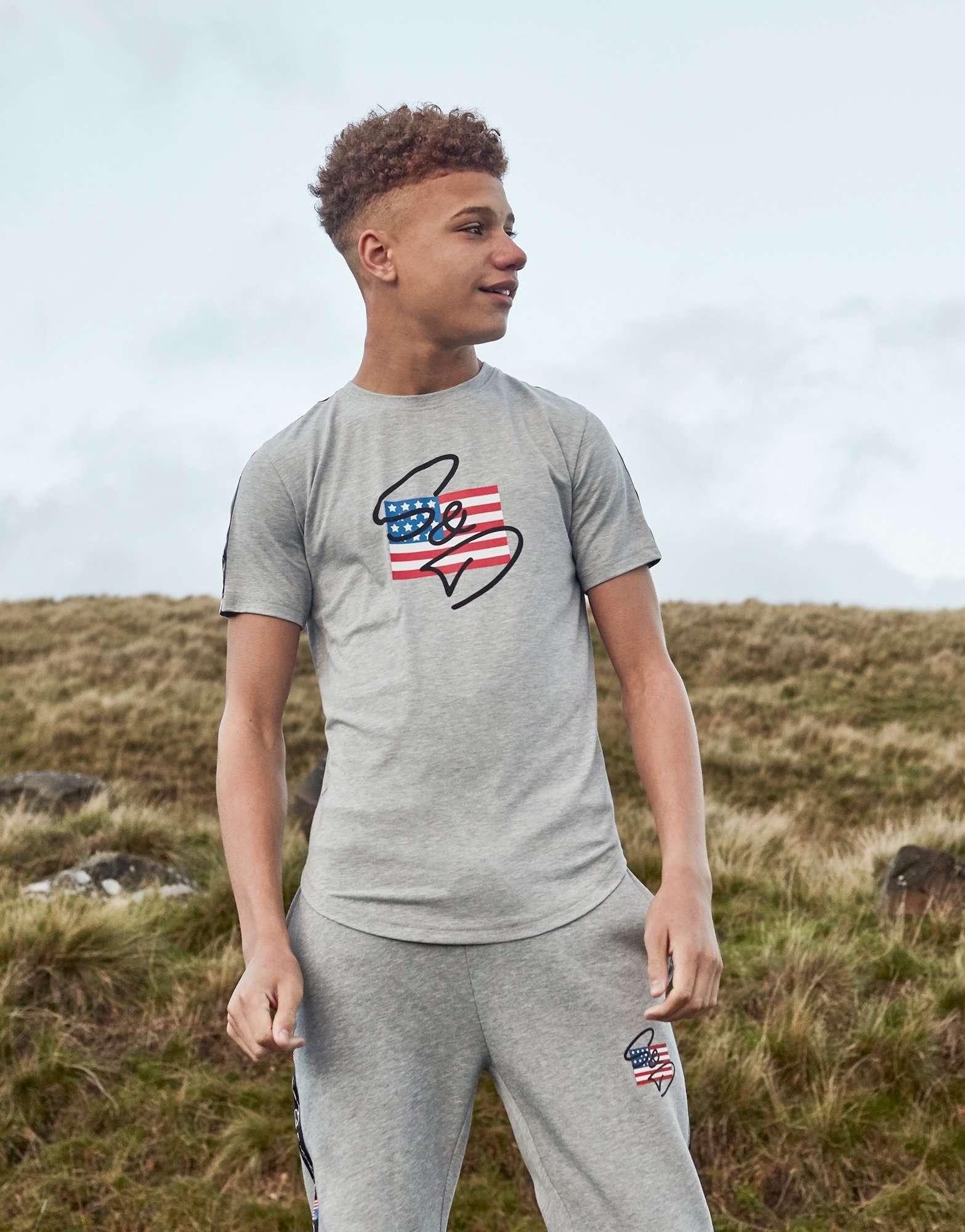 Supply & Demand USA T-Shirt Junior