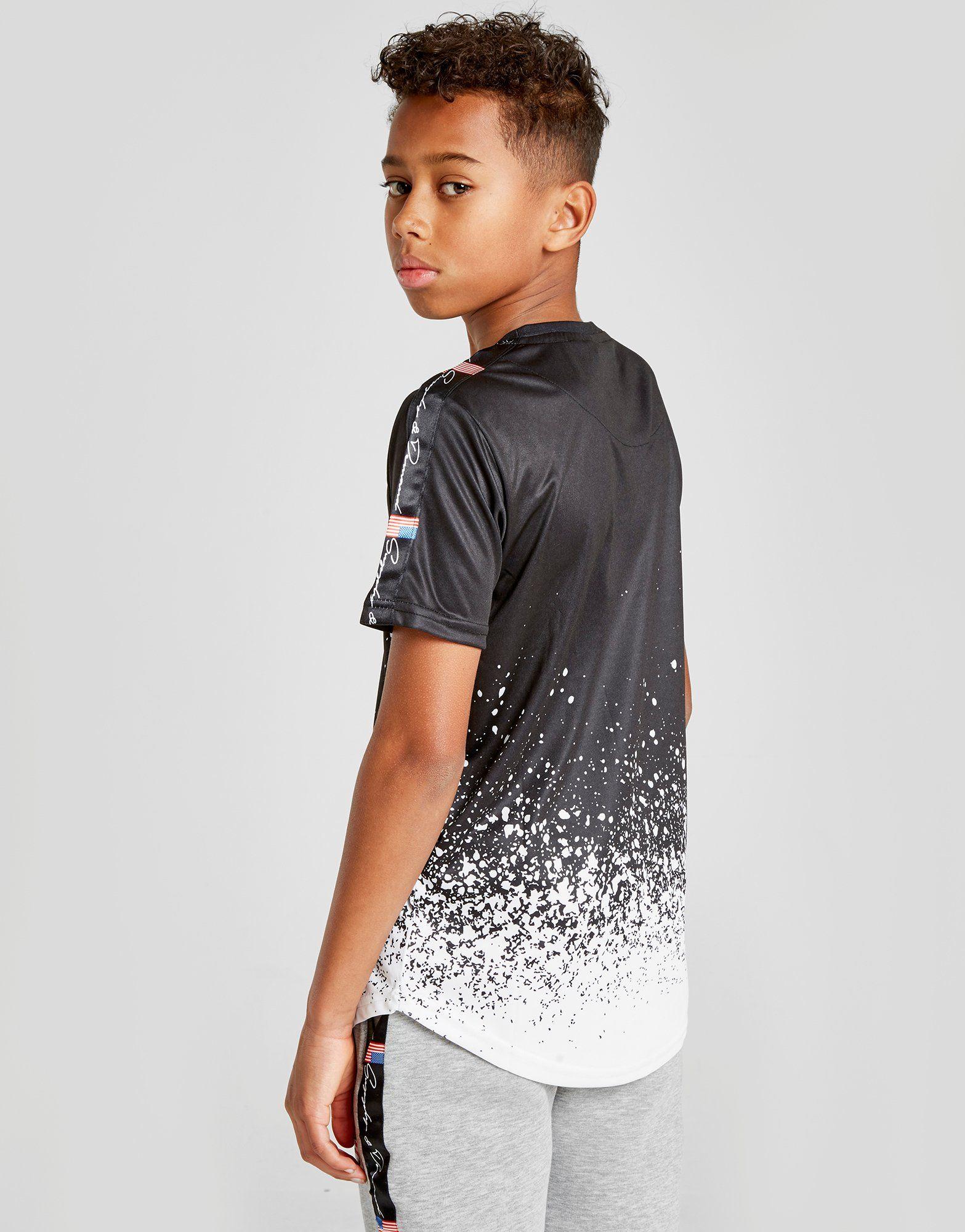 Supply & Demand Snow Fade T-Shirt Junior