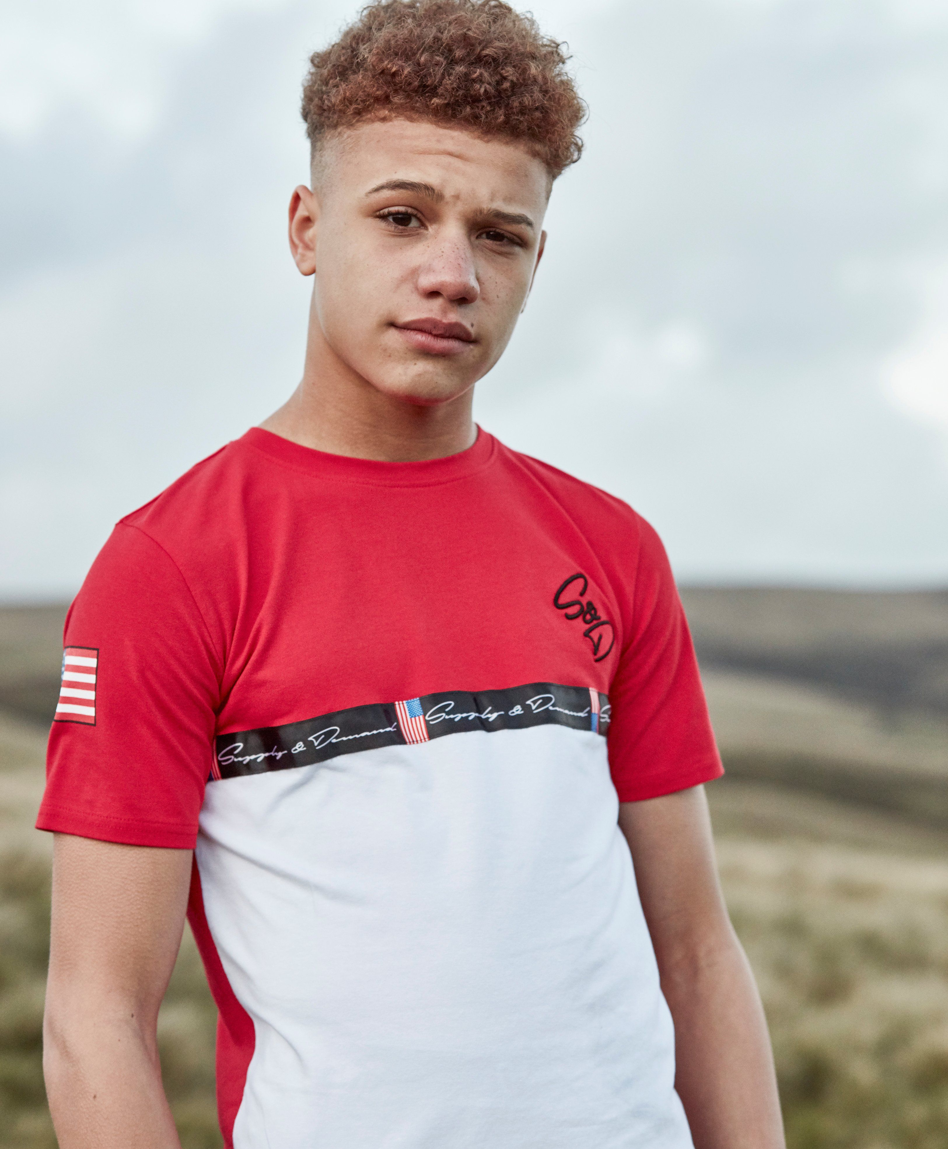 Supply & Demand Cut and Sew T-Shirt Junior