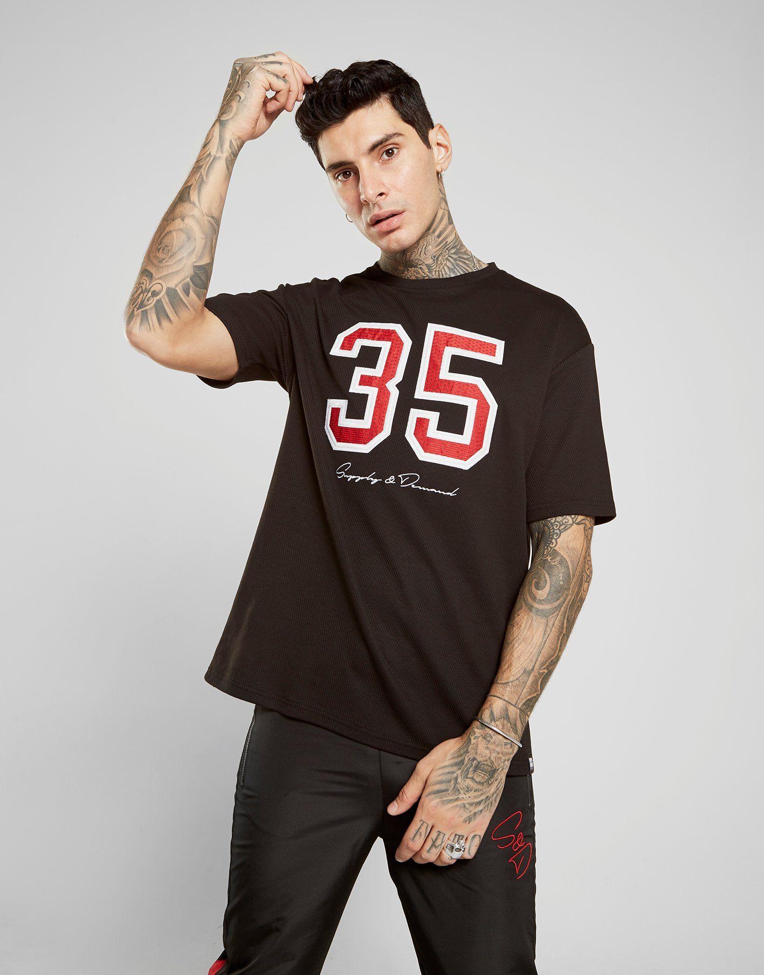 Supply & Demand Oversized Mesh T-Shirt