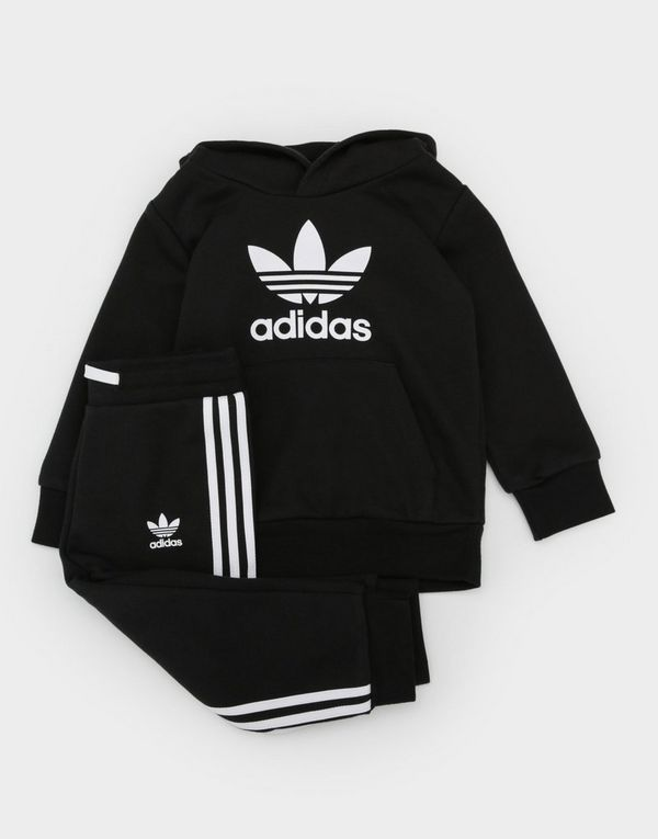 ab1e1ca19ecc adidas Originals adicolor Trefoil Hoodie Set Infant