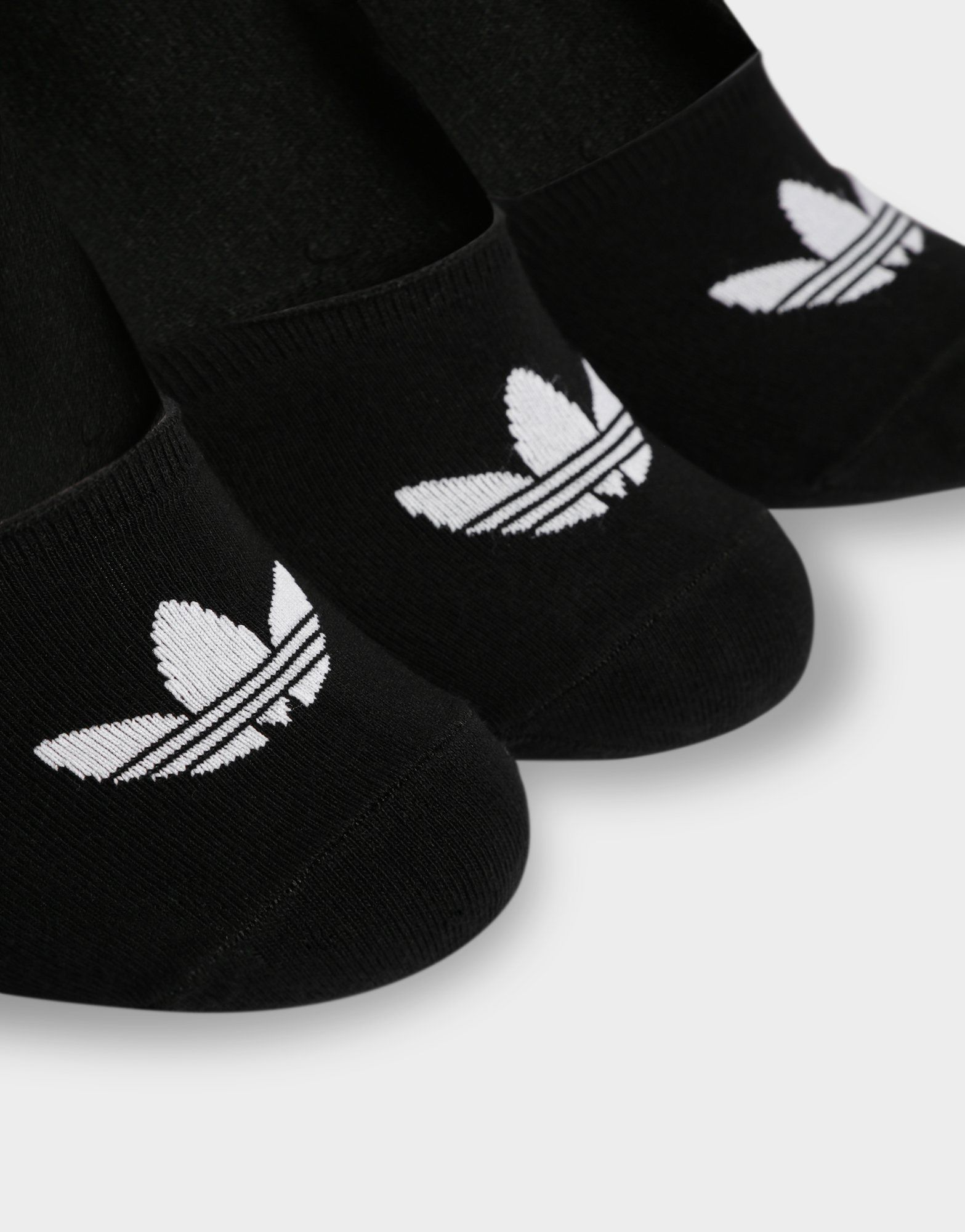 adidas Originals 3 Pack No Show Low-Cut Socks