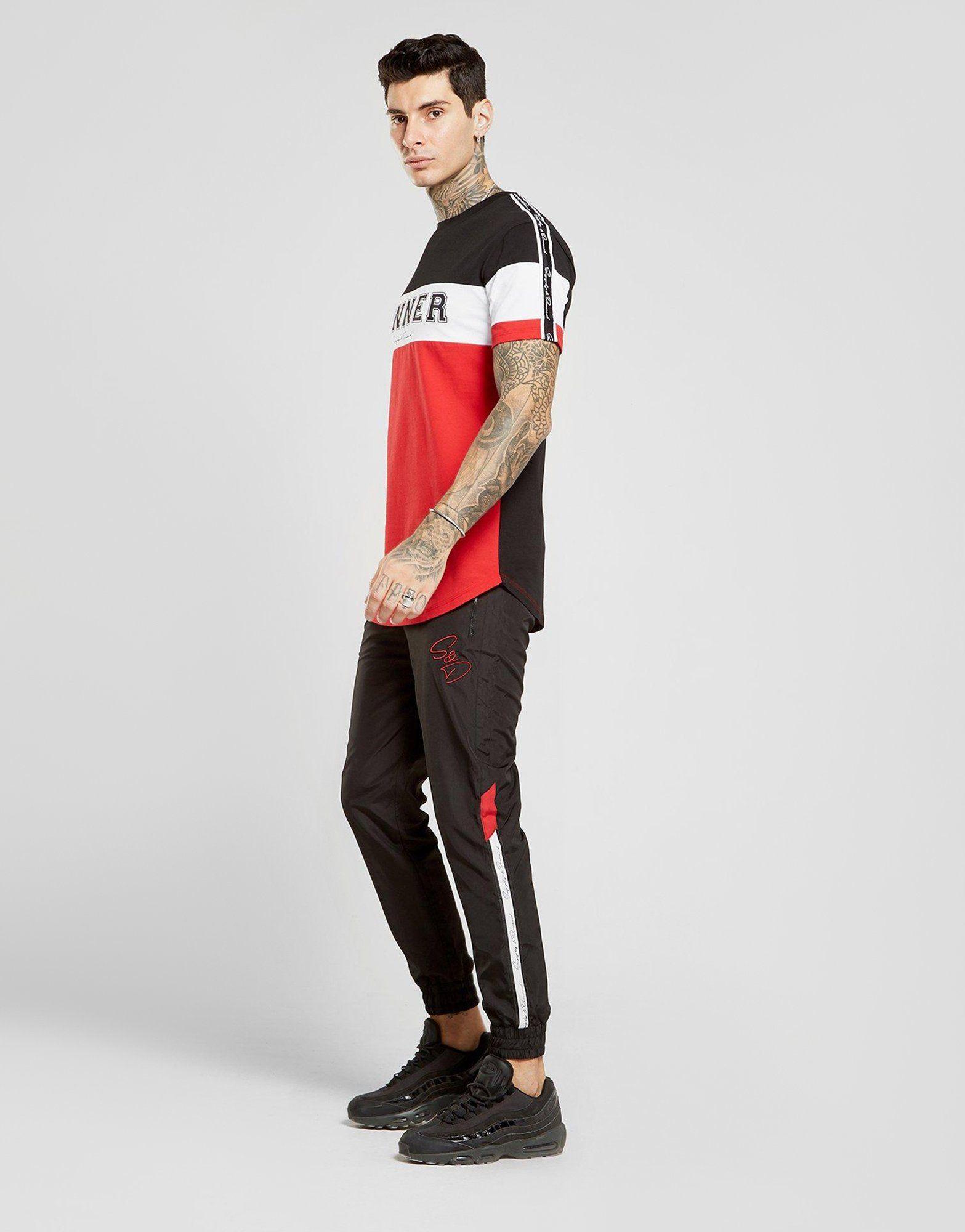 Supply & Demand Varsity Colour Block T-Shirt