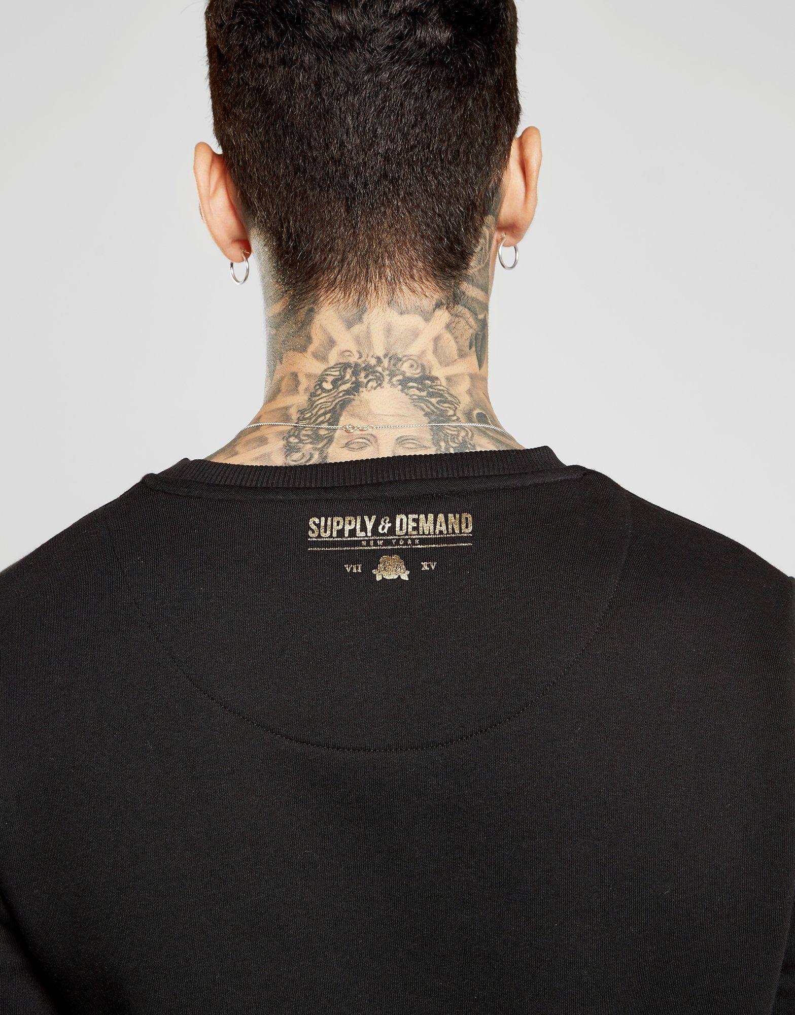 Supply & Demand Baroque Crew Sweatshirt
