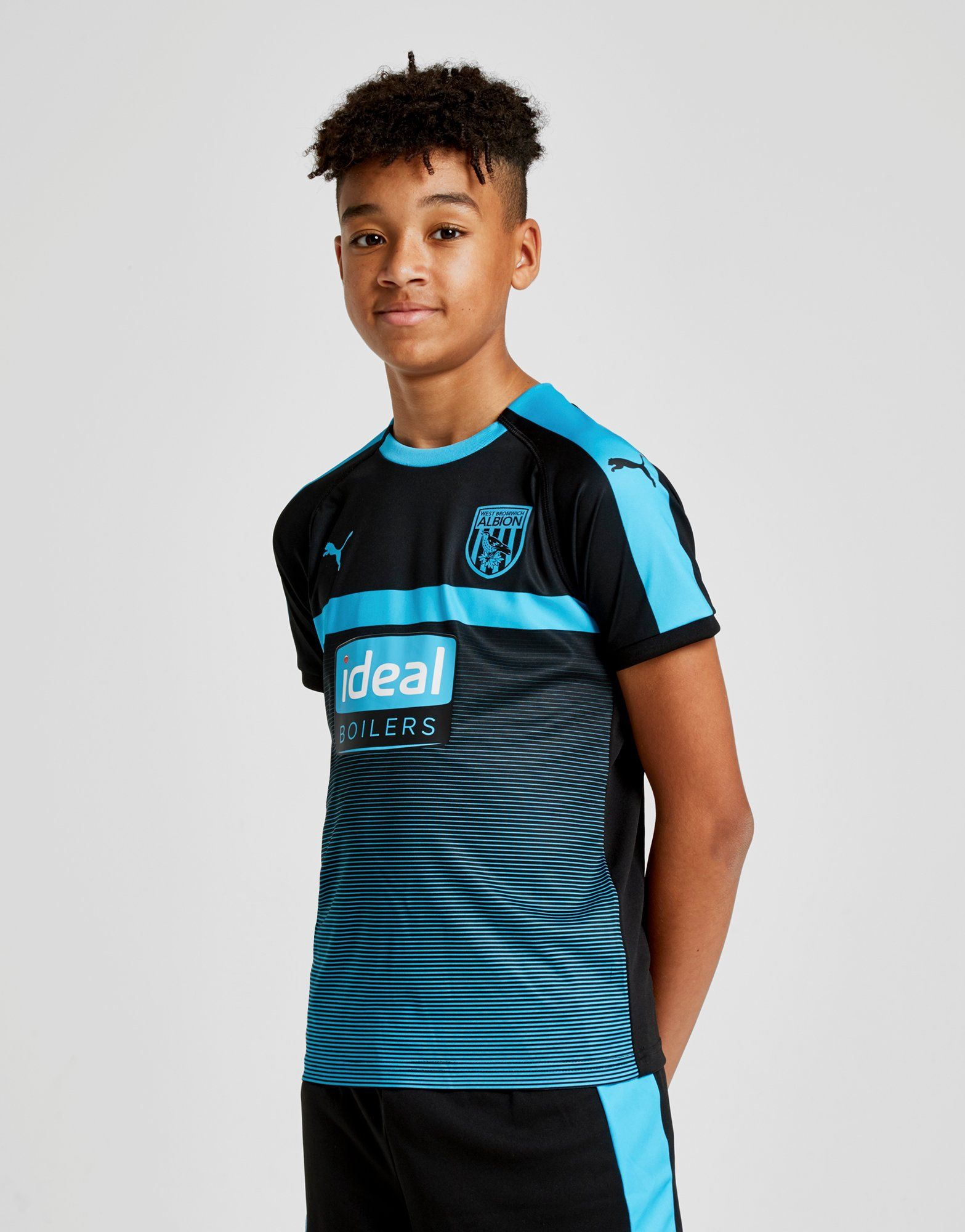 a854ab337 PUMA West Bromwich Albion 2018 19 Away Shirt Junior