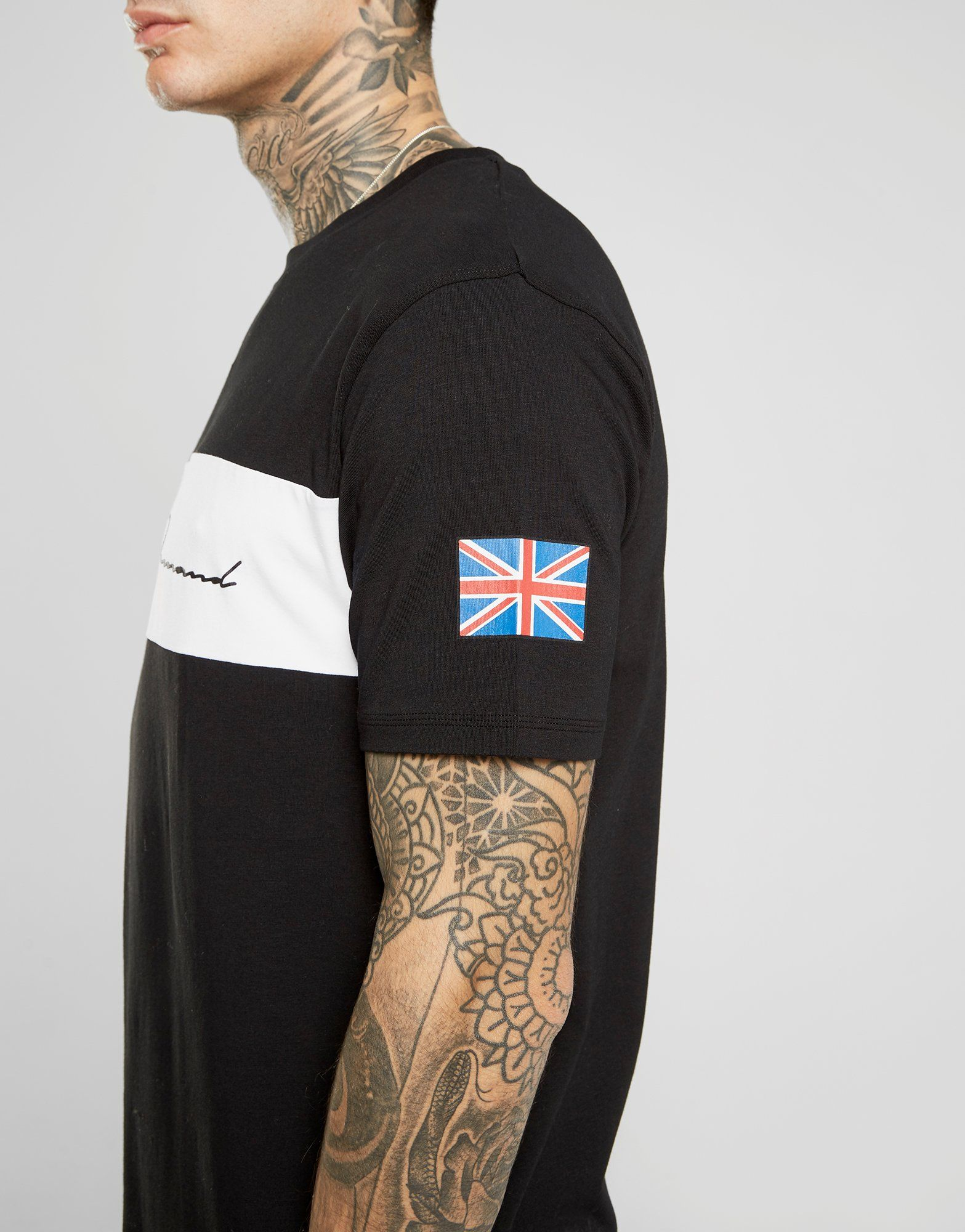 Supply & Demand Flag Script T-Shirt