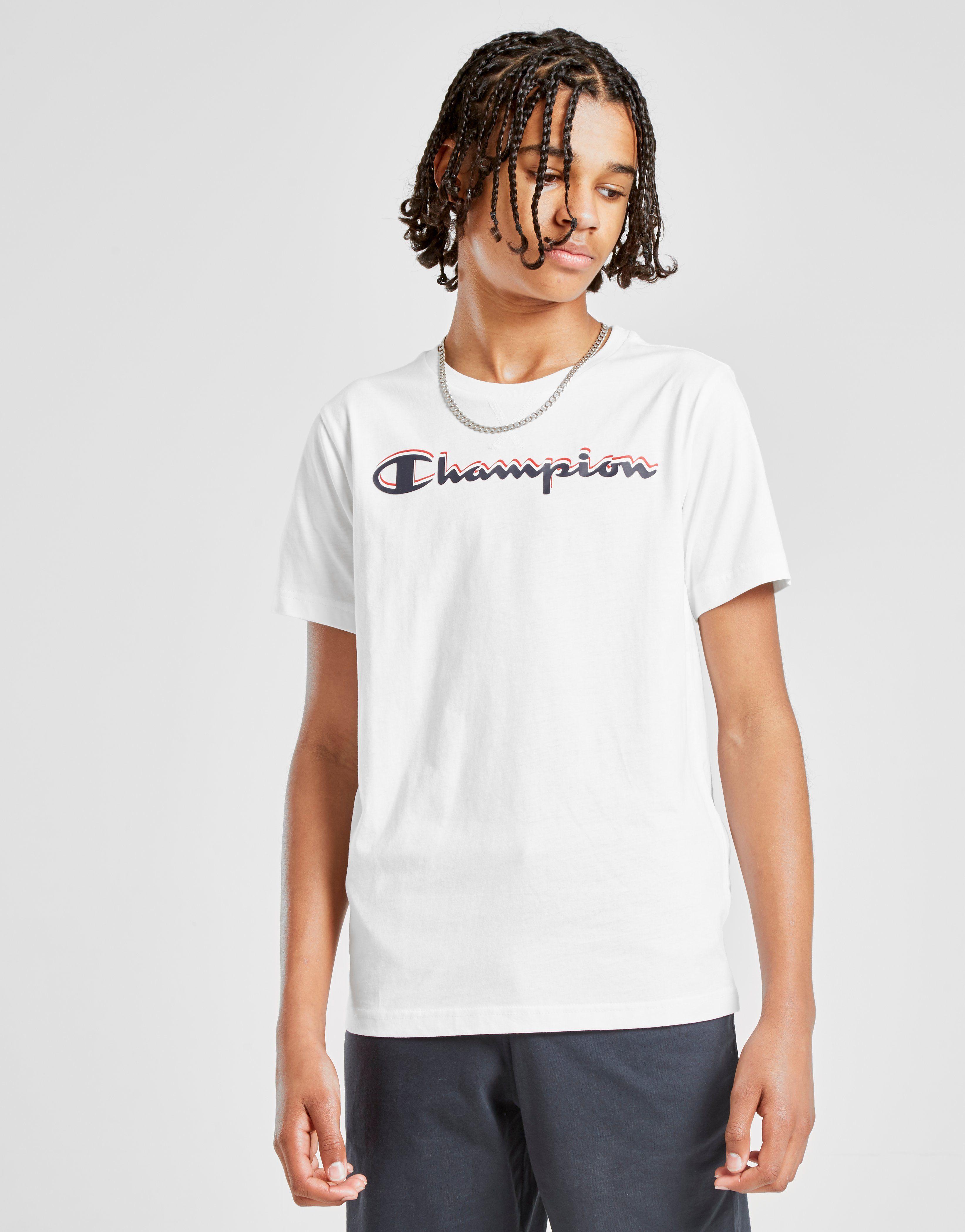 Champion Logo T-Shirt Kinder