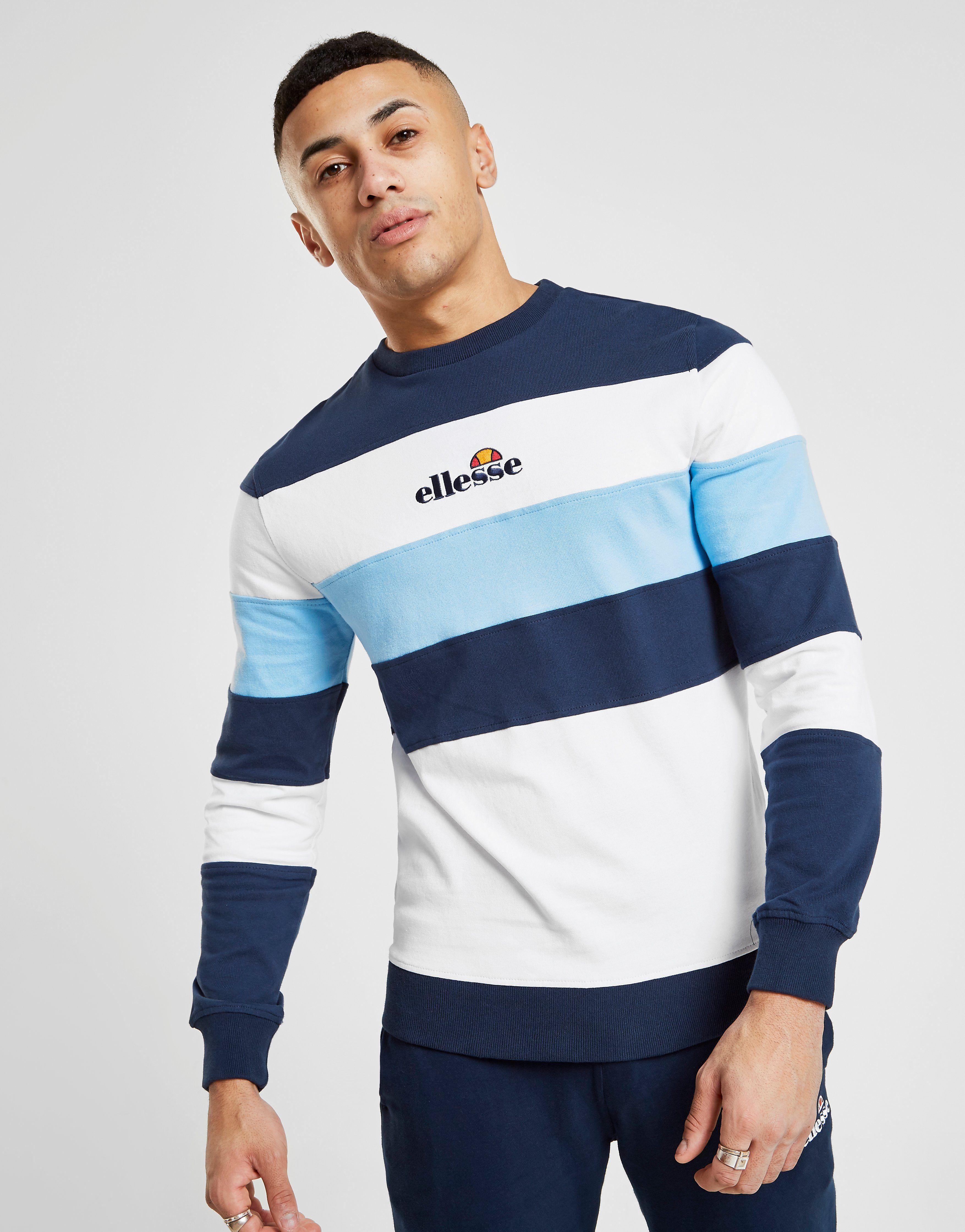 Ellesse Metallia French Terry Crew Sweatshirt