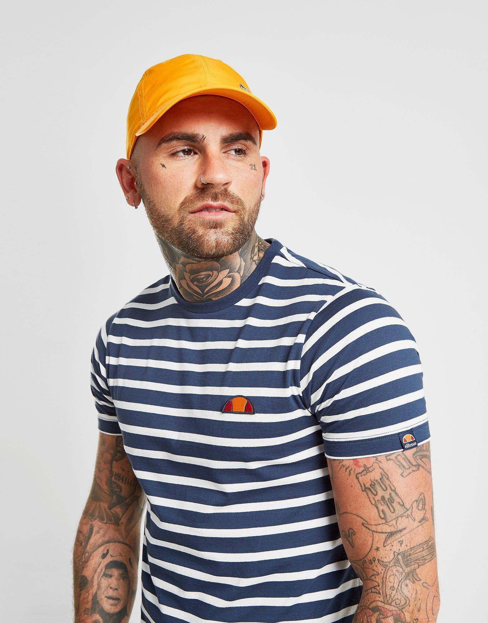 1d40afbf Ellesse Sailor Stripe T-Shirt