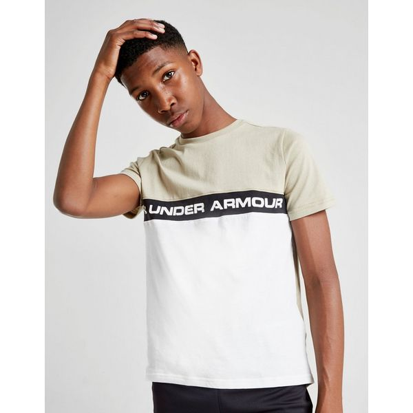 Under Armour Colour Block T-Shirt Junior