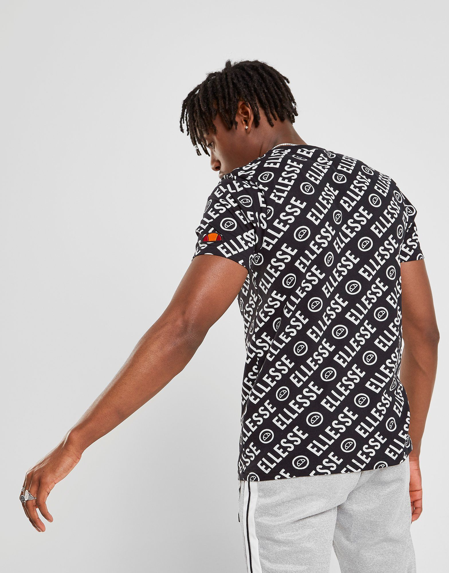 Ellesse Rodi All Over Print T-Shirt Homme