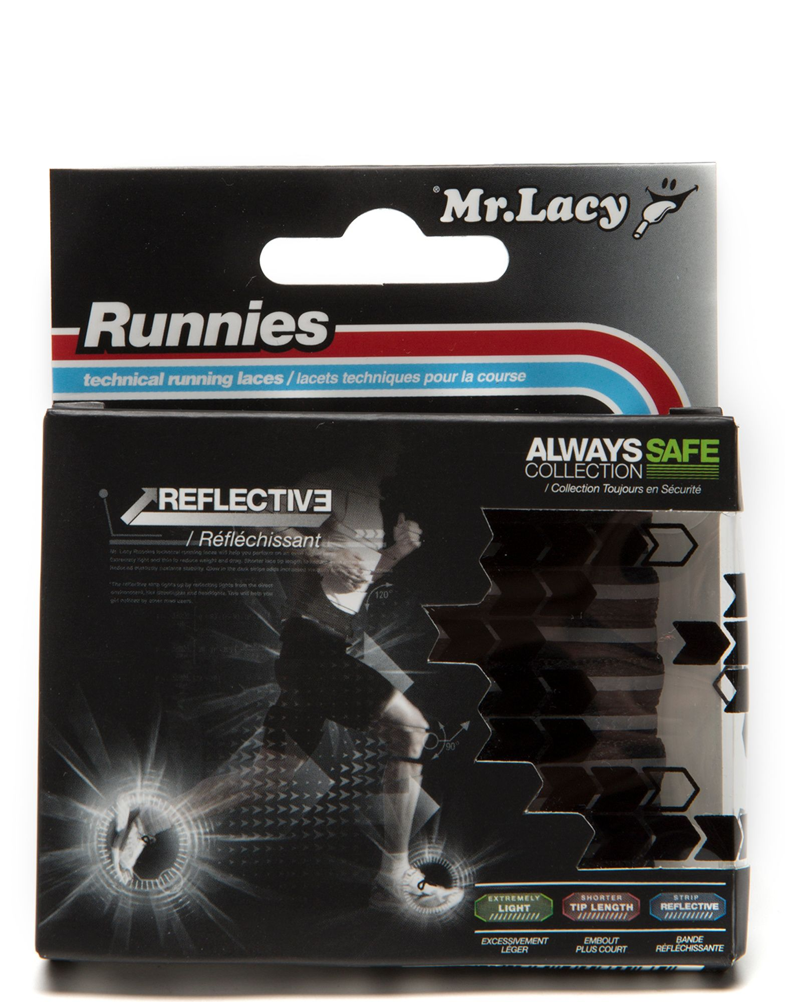 Mr Lacy Runnies Reflective Laces