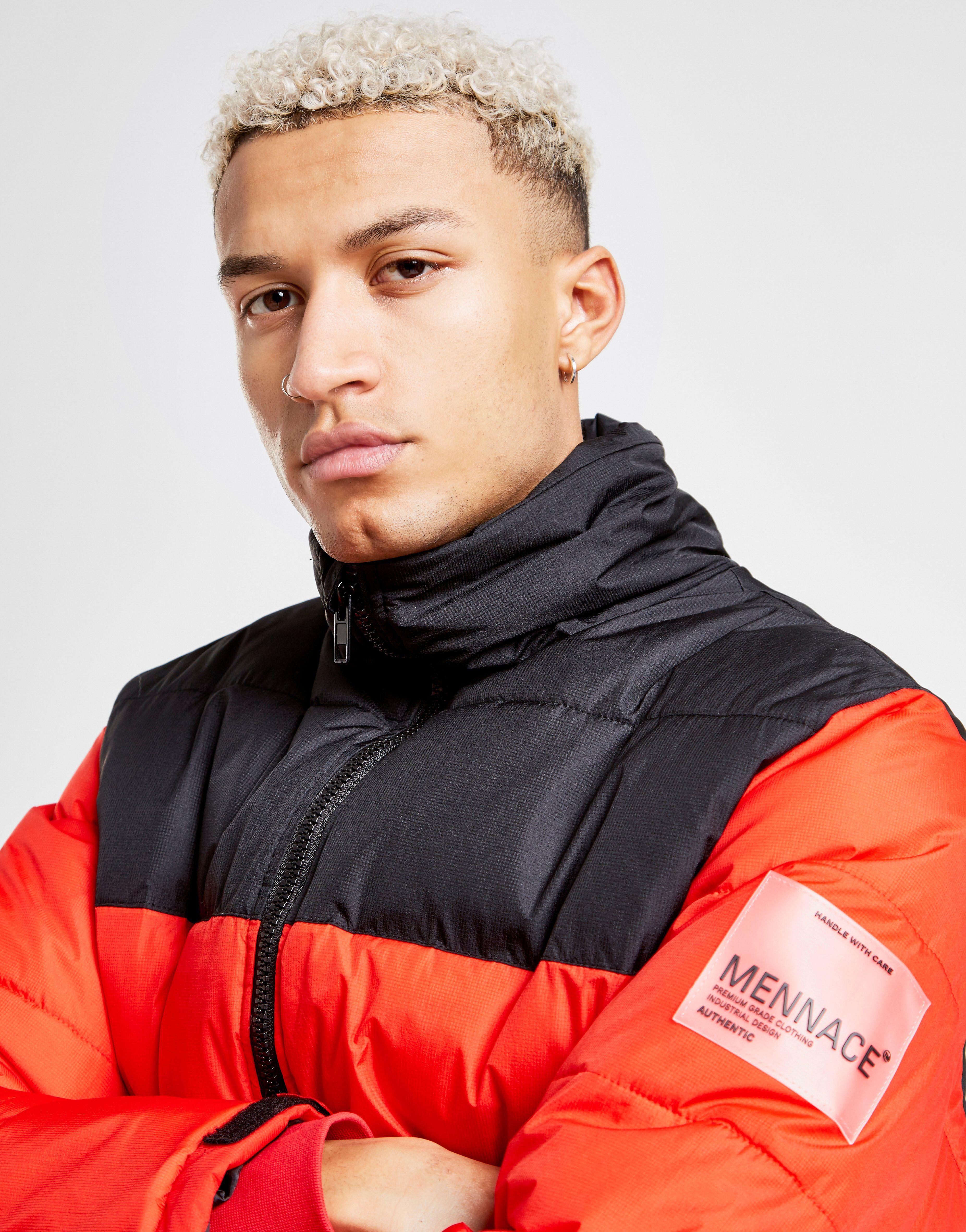 Mennace Funnel Puffer Jacket
