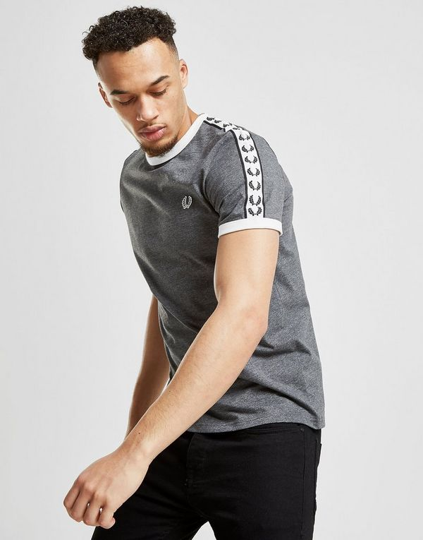 111f1613 Fred Perry Taped Ringer T-Shirt   JD Sports Ireland