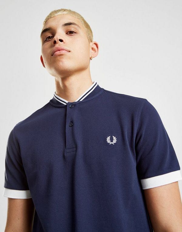 Fred Perry Twin Tip Bomber Collar Polo Shirt