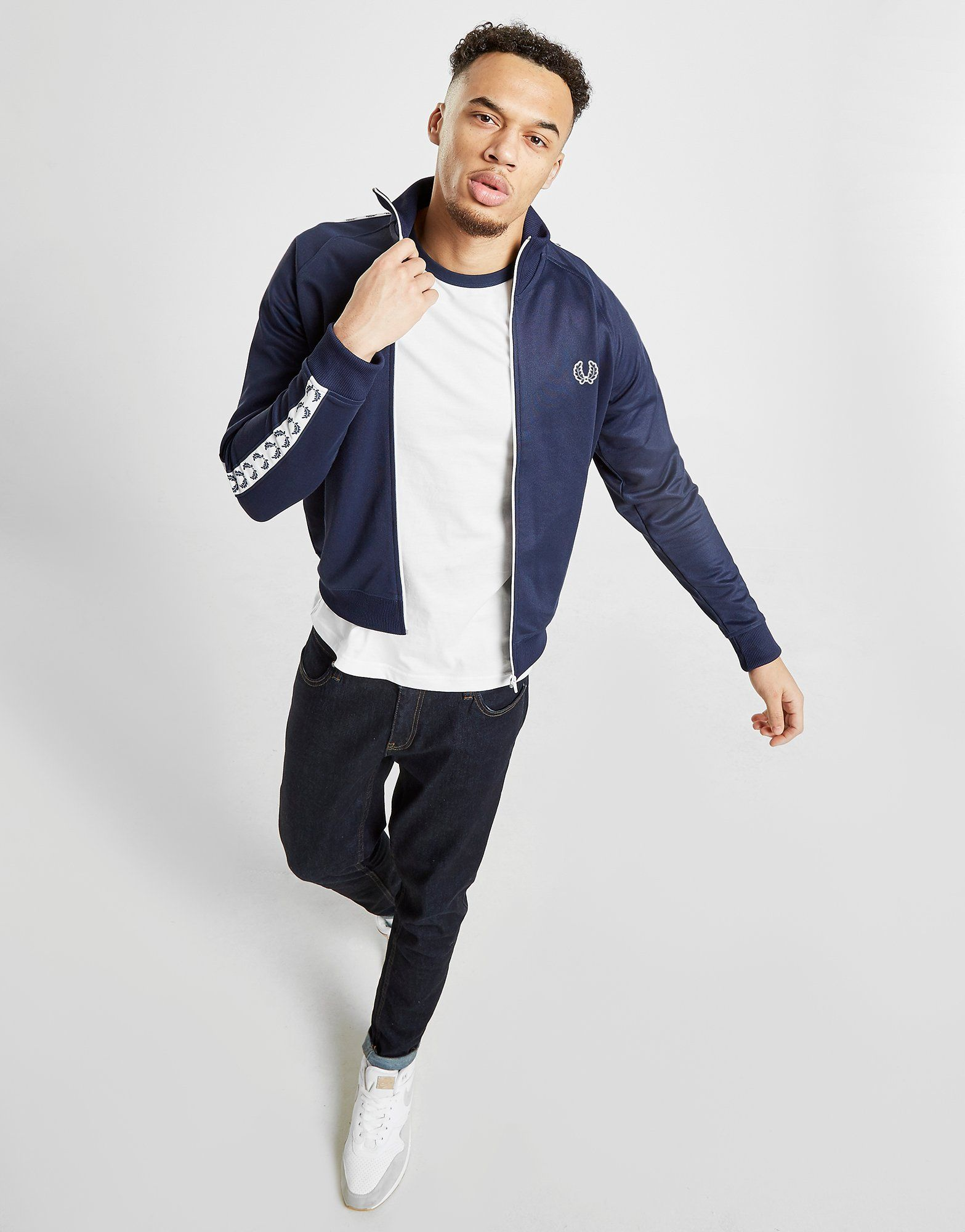 Fred Perry Tape Full Zip Track Top