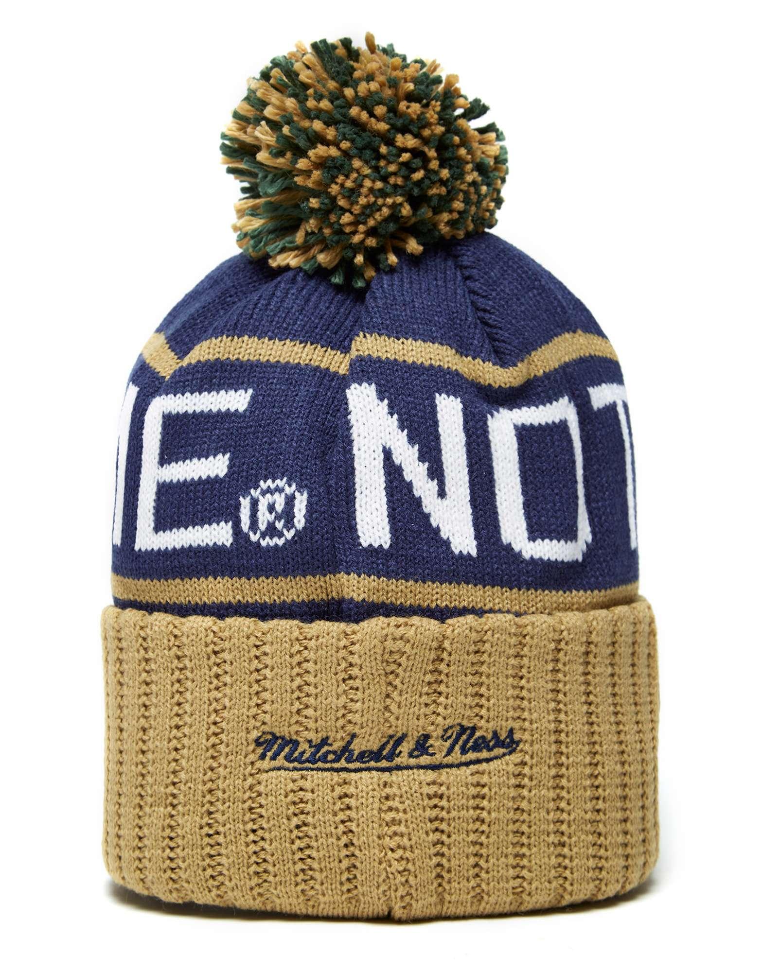 Mitchell & Ness Notre Dame Fighting Irish High5 Bobble Hat