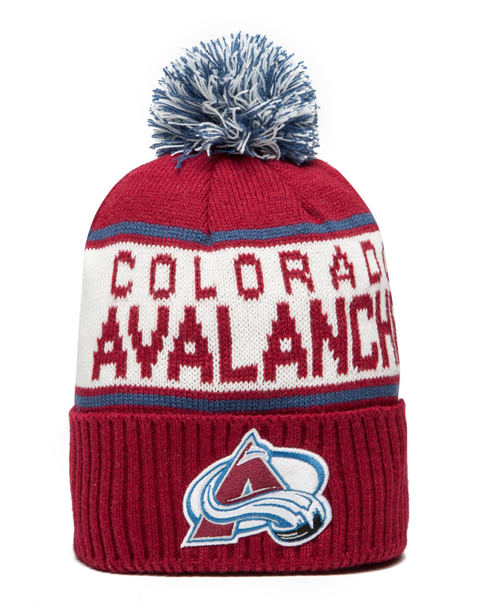 Mitchell & Ness NHL Colorado Avalanche Wordmark Bobble Hat