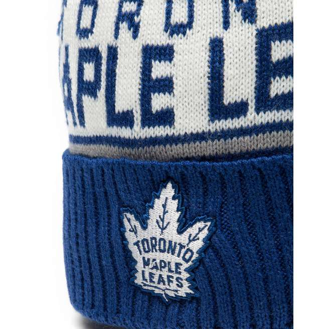 Mitchell & Ness NHL Toronto Maple Leafs Wordmark Bobble Hat