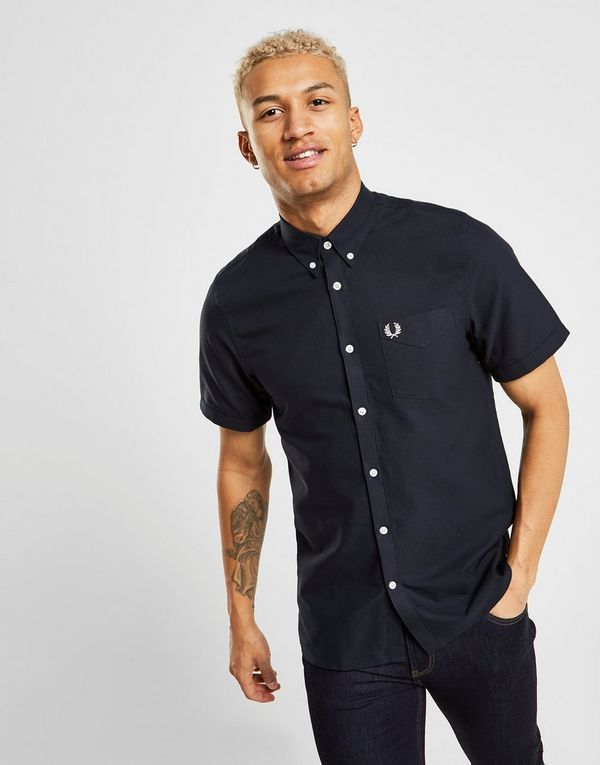 812c787f1f1 Fred Perry Short Sleeve Oxford Shirt