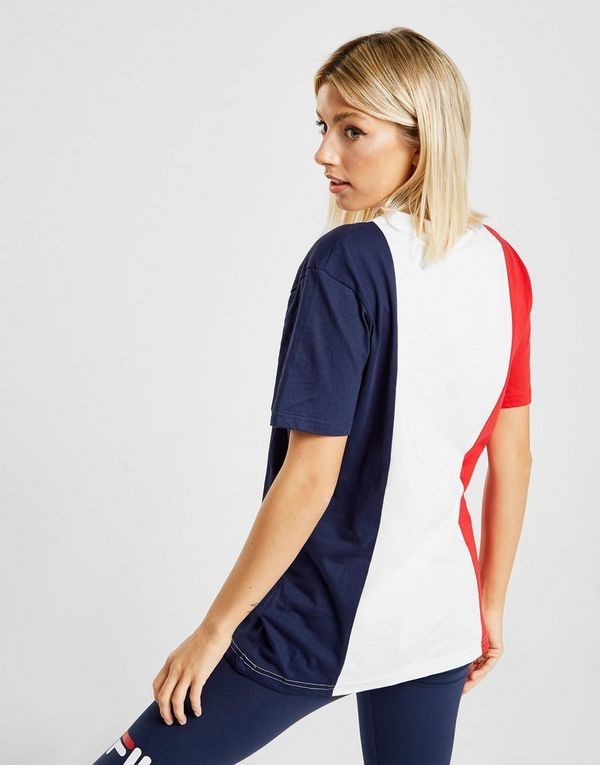 cbc382188f1 Fila Panel Boyfriend T-Shirt Dames | JD Sports