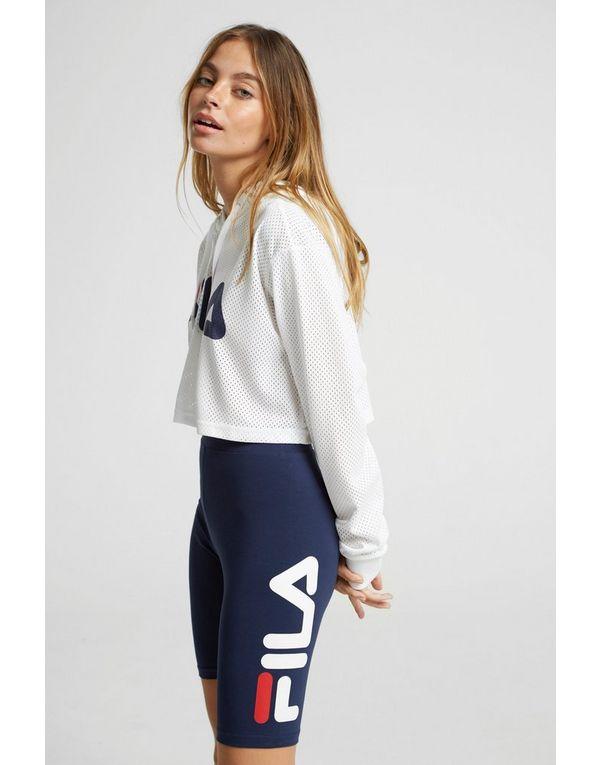 Fila Logo Cycle Shorts Dames