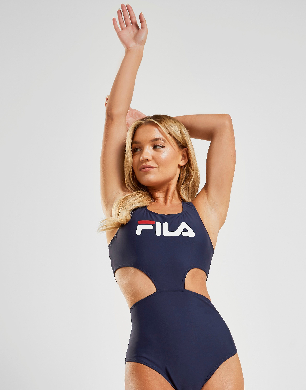 7716b9ae4222b Fila Cut Out Swimsuit