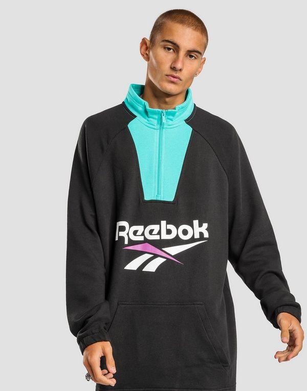 6be98135750 REEBOK Classics Vector Quarter-Zip Sweatshirt