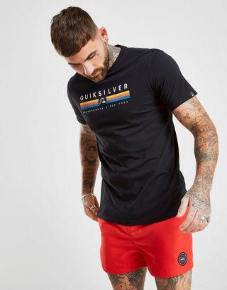 brand new 8af52 b508b Quiksilver Central Stripe T-Shirt Herren | JD Sports