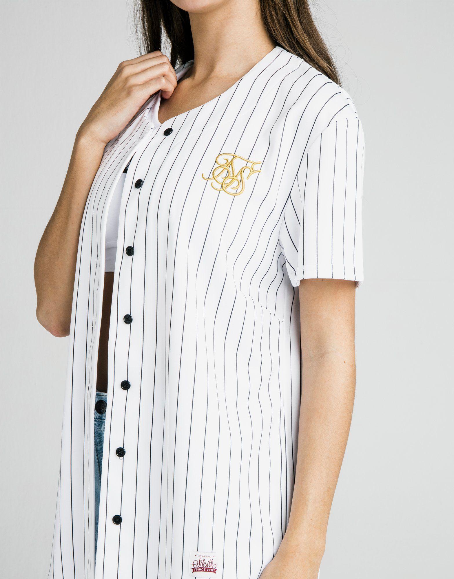 SikSilk Baseball T-Shirt