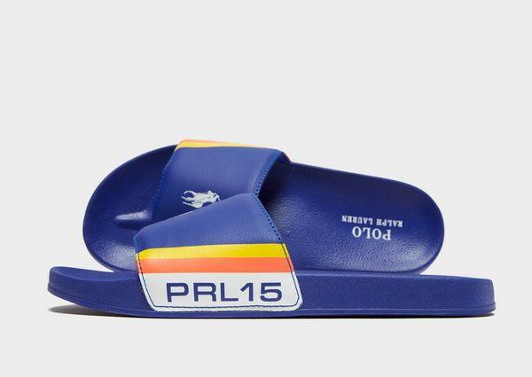 12750fb6e Polo Ralph Lauren Fletcher Slides Junior