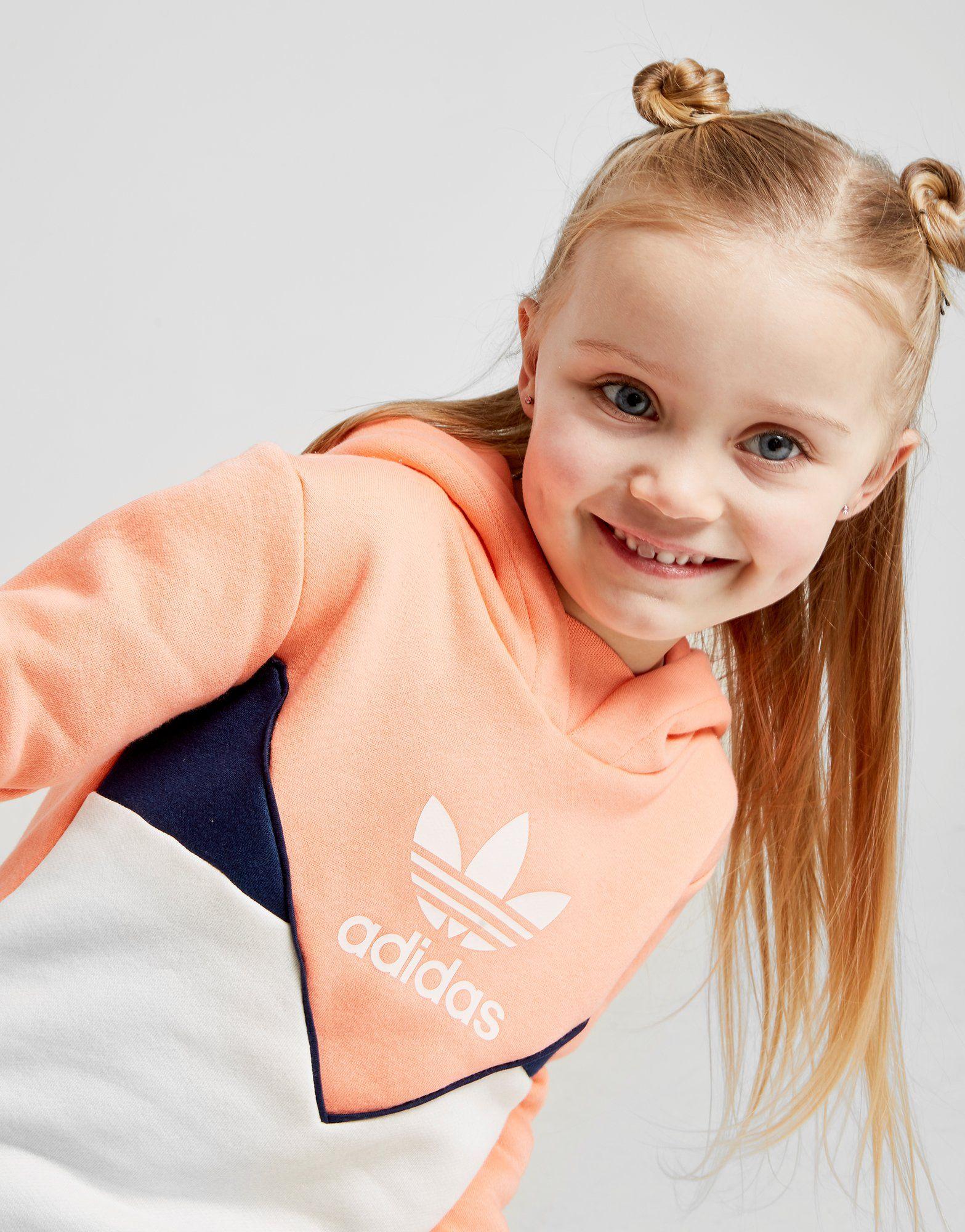 adidas Originals Girls' Colorado Overhead Tracksuit Infant