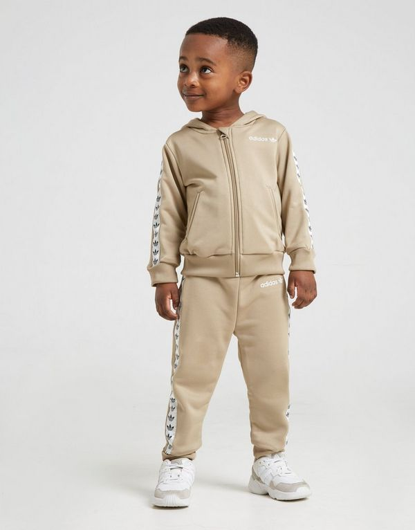 pretty cheap the best look good shoes sale adidas Originals Tape Poly Full Zip Suit Infant | JD Sports ...