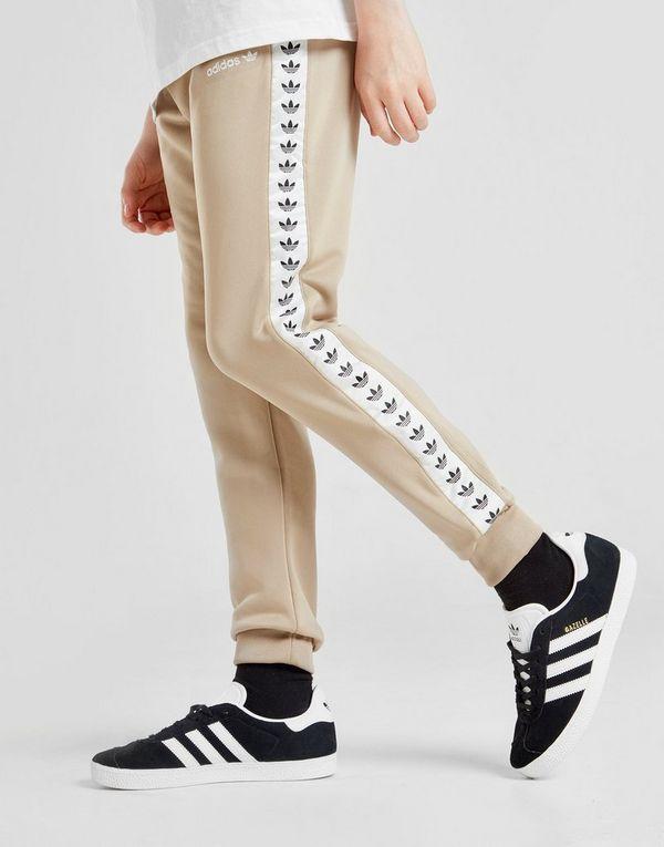 64c6295bf720 adidas Originals Tape Poly Track Pants Junior