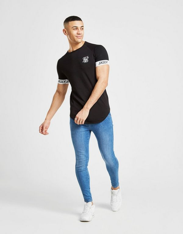 SikSilk  Jeans Skinny Denim Homme