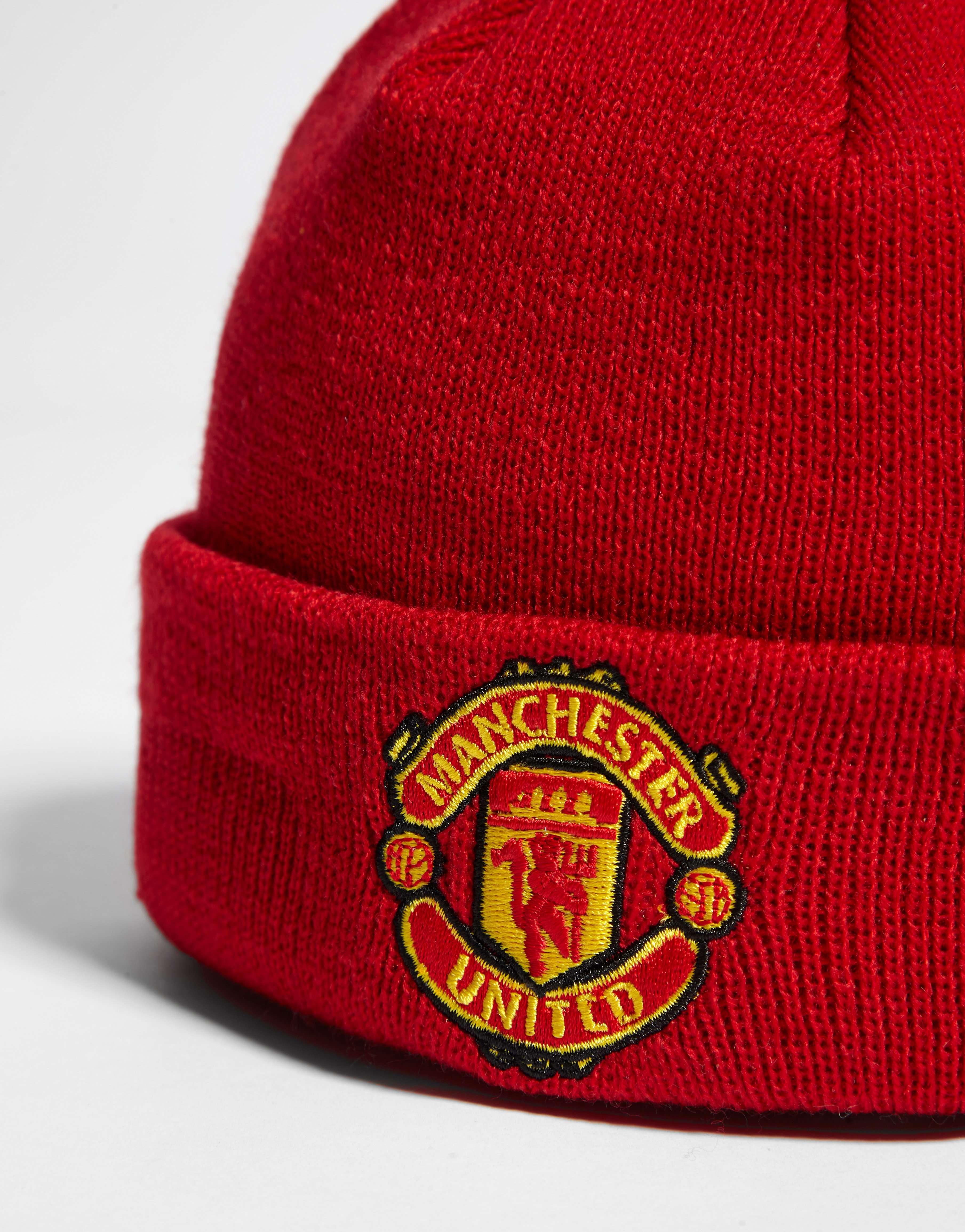 New Era Manchester United FC Basic Cuff Beanie Hat Infant