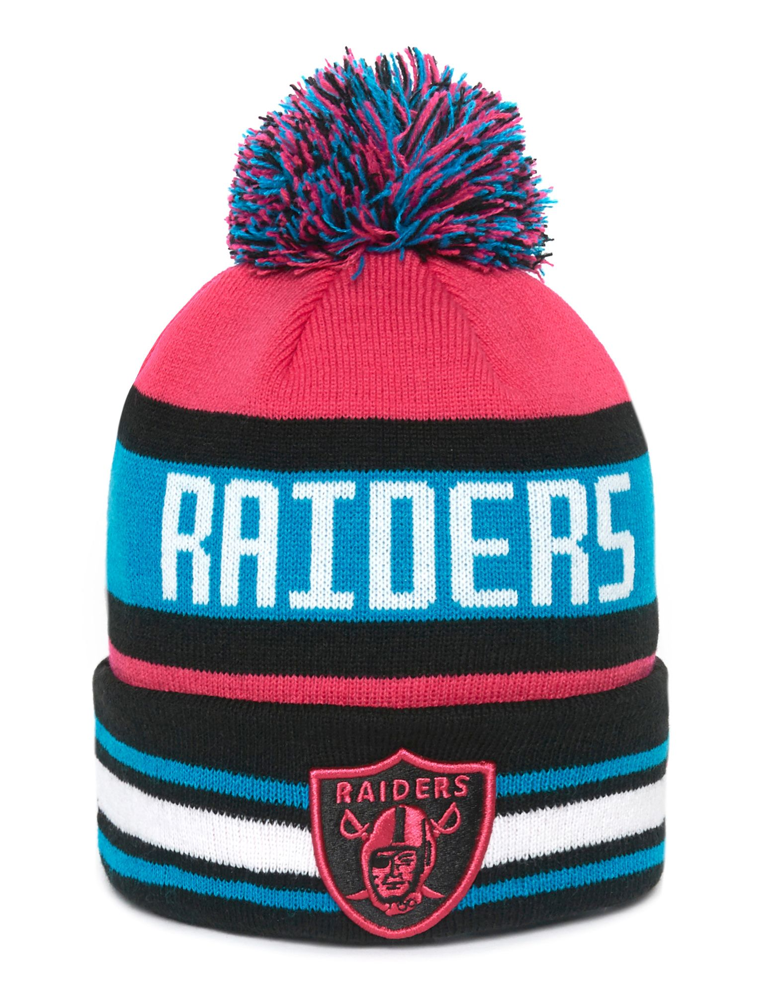 New Era NFL Oakland Raiders The Jake Knitted Hat
